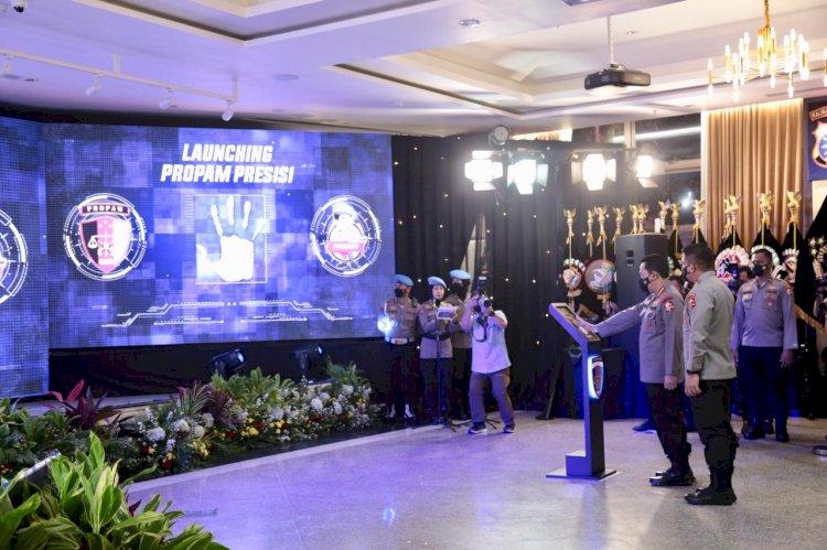 Kapolri Launching Aplikasi Propam Presisi