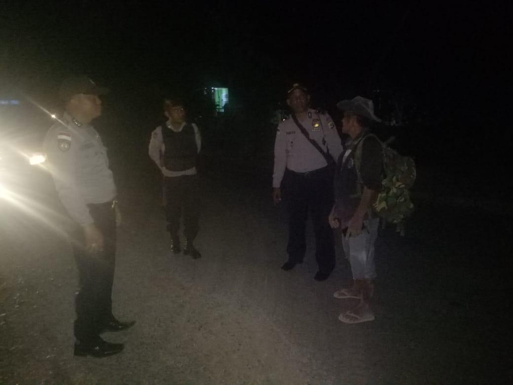 Cegah Pencurian Hewan, Polsek Rote Selatan Intensifkan Patroli Malam